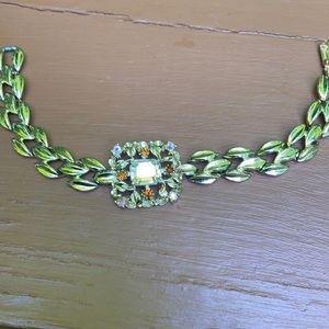 Sparkly center gem bracelet